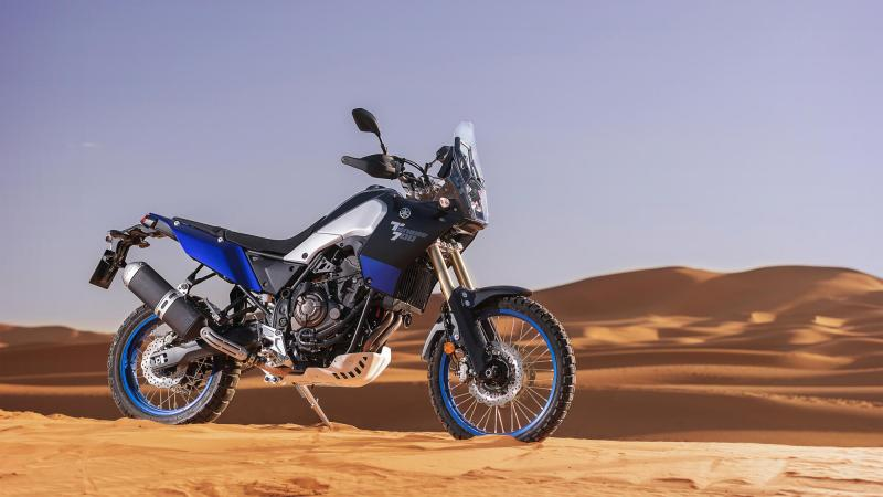 Ready for adventure - Yamaha Tenere 700
