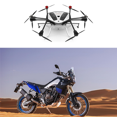 Red Dot Award for two Yamaha models